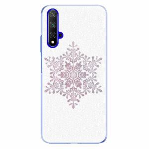 Plastový kryt iSaprio - Snow Flake - Huawei Honor 20