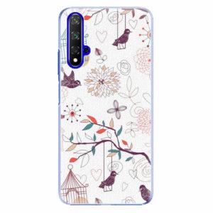 Plastový kryt iSaprio - Birds - Huawei Honor 20