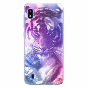 Plastový kryt iSaprio - Purple Tiger - Samsung Galaxy A10
