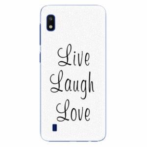 Plastový kryt iSaprio - Live Laugh Love - Samsung Galaxy A10