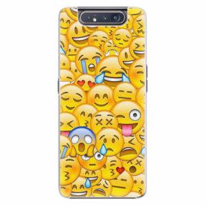 Plastový kryt iSaprio - Emoji - Samsung Galaxy A80