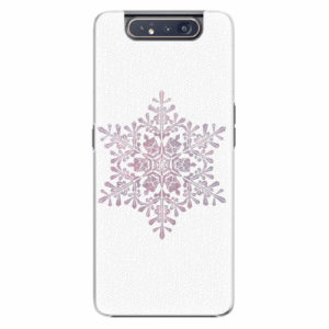 Plastový kryt iSaprio - Snow Flake - Samsung Galaxy A80