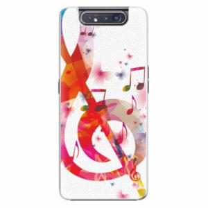 Plastový kryt iSaprio - Love Music - Samsung Galaxy A80