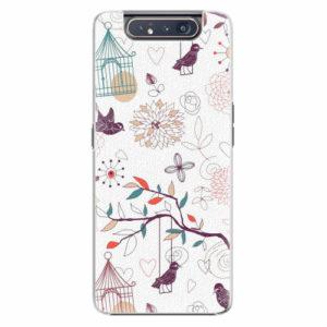 Plastový kryt iSaprio - Birds - Samsung Galaxy A80
