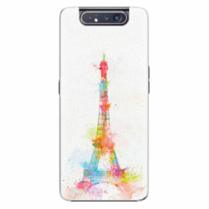 Plastový kryt iSaprio - Eiffel Tower - Samsung Galaxy A80