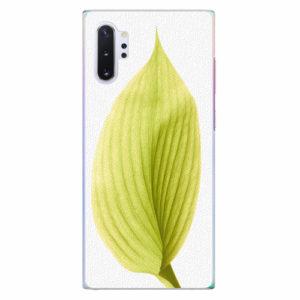 Plastový kryt iSaprio - Green Leaf - Samsung Galaxy Note 10+