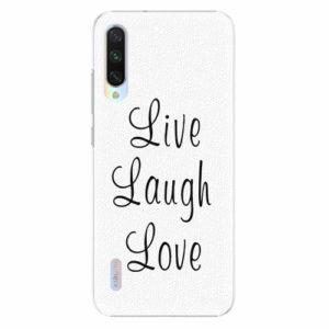 Plastový kryt iSaprio - Live Laugh Love - Xiaomi Mi A3