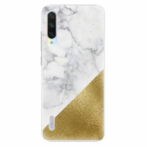 Plastový kryt iSaprio - Gold and WH Marble - Xiaomi Mi A3