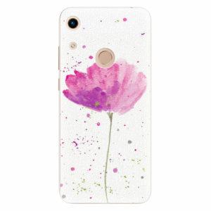 Silikonové pouzdro iSaprio - Poppies - Huawei Honor 8A