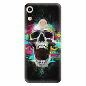 Silikonové pouzdro iSaprio - Skull in Colors - Huawei Honor 8A