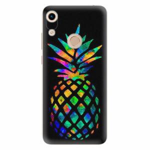 Silikonové pouzdro iSaprio - Rainbow Pineapple - Huawei Honor 8A