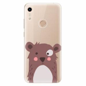 Silikonové pouzdro iSaprio - Brown Bear - Huawei Honor 8A