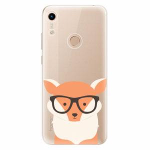 Silikonové pouzdro iSaprio - Orange Fox - Huawei Honor 8A