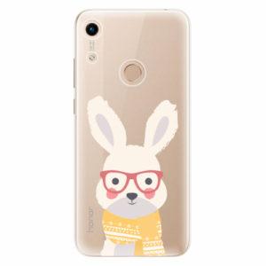 Silikonové pouzdro iSaprio - Smart Rabbit - Huawei Honor 8A