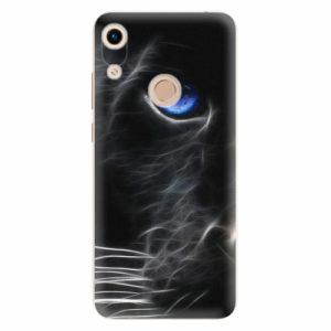 Silikonové pouzdro iSaprio - Black Puma - Huawei Honor 8A