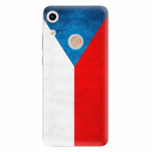 Silikonové pouzdro iSaprio - Czech Flag - Huawei Honor 8A