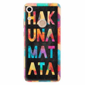 Silikonové pouzdro iSaprio - Hakuna Matata 01 - Huawei Honor 8A