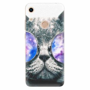 Silikonové pouzdro iSaprio - Galaxy Cat - Huawei Honor 8A