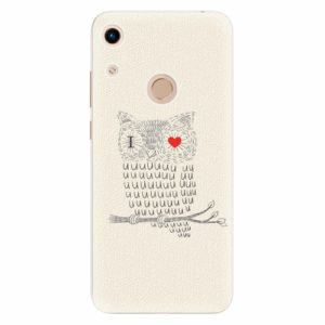 Silikonové pouzdro iSaprio - I Love You 01 - Huawei Honor 8A