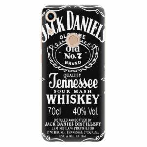 Silikonové pouzdro iSaprio - Jack Daniels - Huawei Honor 8A