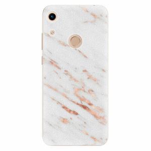Silikonové pouzdro iSaprio - Rose Gold Marble - Huawei Honor 8A