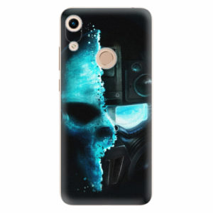 Silikonové pouzdro iSaprio - Roboskull - Huawei Honor 8A
