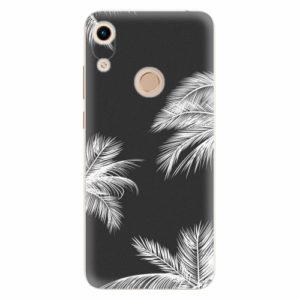 Silikonové pouzdro iSaprio - White Palm - Huawei Honor 8A
