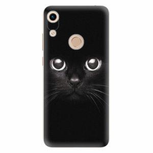 Silikonové pouzdro iSaprio - Black Cat - Huawei Honor 8A