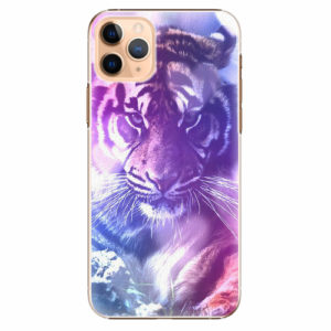 Plastový kryt iSaprio - Purple Tiger - iPhone 11 Pro Max