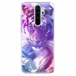 Plastový kryt iSaprio - Purple Tiger - Xiaomi Redmi Note 8 Pro