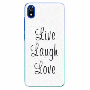Plastový kryt iSaprio - Live Laugh Love - Xiaomi Redmi 7A