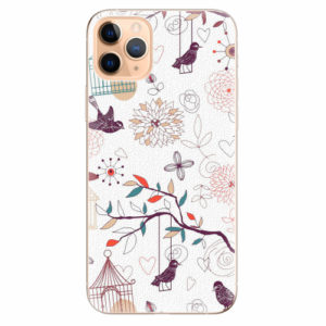 Silikonové pouzdro iSaprio - Birds - iPhone 11 Pro Max