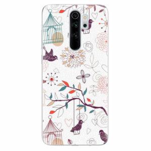 Silikonové pouzdro iSaprio - Birds - Xiaomi Redmi Note 8 Pro