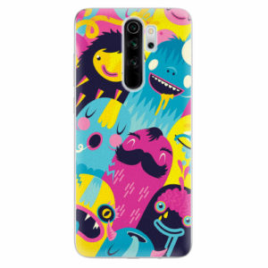 Silikonové pouzdro iSaprio - Monsters - Xiaomi Redmi Note 8 Pro