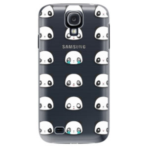 Plastové pouzdro iSaprio - Panda pattern 01 - Samsung Galaxy S4