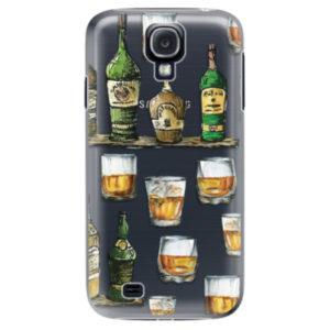Plastové pouzdro iSaprio - Whisky pattern - Samsung Galaxy S4