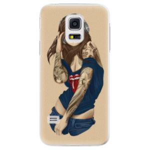 Plastové pouzdro iSaprio - Girl 03 - Samsung Galaxy S5 Mini