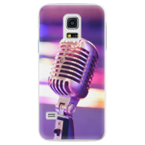 Plastové pouzdro iSaprio - Vintage Microphone - Samsung Galaxy S5 Mini