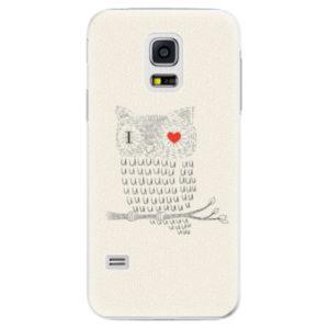 Plastové pouzdro iSaprio - I Love You 01 - Samsung Galaxy S5 Mini