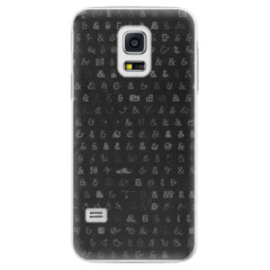 Plastové pouzdro iSaprio - Ampersand 01 - Samsung Galaxy S5 Mini