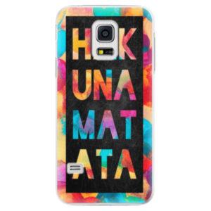 Plastové pouzdro iSaprio - Hakuna Matata 01 - Samsung Galaxy S5 Mini