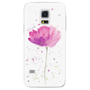 Plastové pouzdro iSaprio - Poppies - Samsung Galaxy S5 Mini