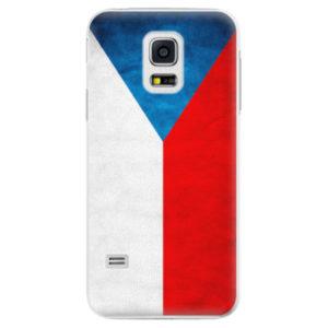 Plastové pouzdro iSaprio - Czech Flag - Samsung Galaxy S5 Mini