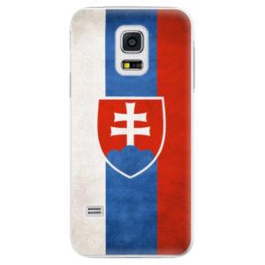 Plastové pouzdro iSaprio - Slovakia Flag - Samsung Galaxy S5 Mini