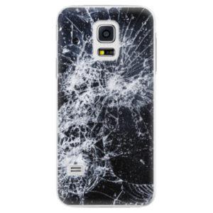Plastové pouzdro iSaprio - Cracked - Samsung Galaxy S5 Mini