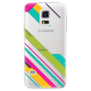 Plastové pouzdro iSaprio - Color Stripes 03 - Samsung Galaxy S5 Mini