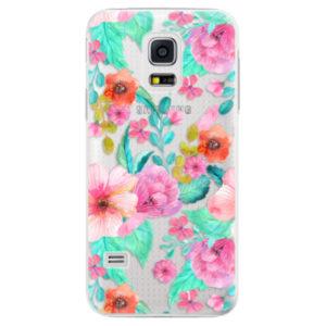 Plastové pouzdro iSaprio - Flower Pattern 01 - Samsung Galaxy S5 Mini