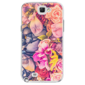 Plastové pouzdro iSaprio - Beauty Flowers - Samsung Galaxy Note 2