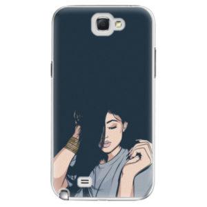 Plastové pouzdro iSaprio - Swag Girl - Samsung Galaxy Note 2