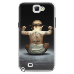 Plastové pouzdro iSaprio - Crazy Baby - Samsung Galaxy Note 2